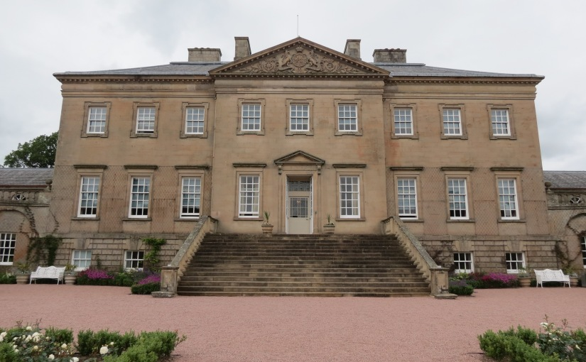 The magnificent Dumfries House and its beautifully restored Queen Elizabeth Garden