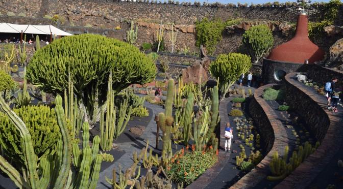 The Cactus Garden,  Lanzarote